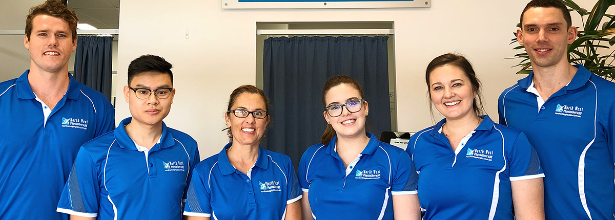 The North West Physio Keperra team